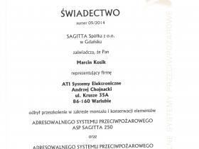 a)  Sagitta Marcin 001