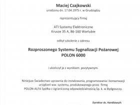 e)  POLON 6000 Maciej 001